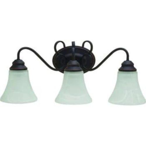 NEW 3 LIGHT RUBBED OIL VANITY LIGHT for sale in North Ogden , UT