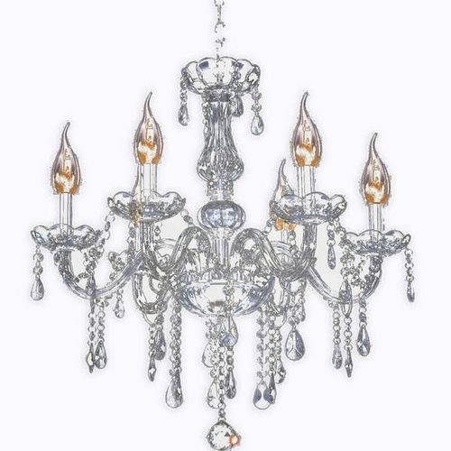 NEW 6 LIGHT CRYSTAL CHANDELIER (3 AVAILABLE) for sale in North Ogden , UT