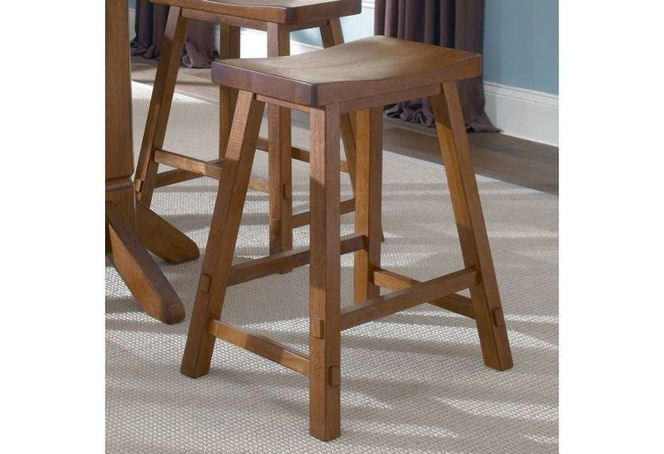 NEW SET OF 2 WOODEN SAWHORSE BARSTOOLS for sale in North Ogden , UT