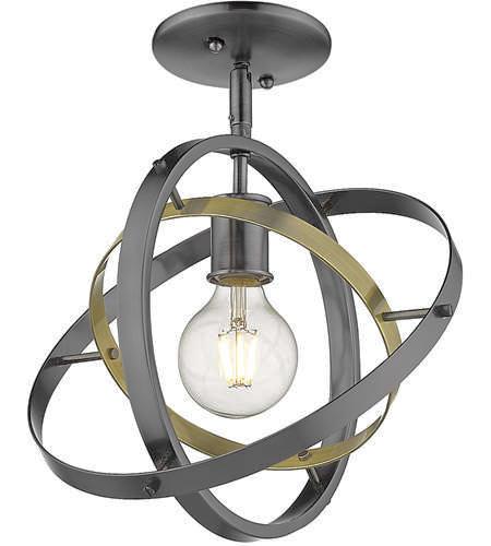 NEW GOLDEN LIGHTING ATOM CHANDELIER PENDANT LIGHT for sale in North Ogden , UT