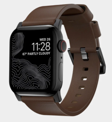 NEW NOMAD APPLE WATCH BROWN LEATHER ACTIVE STRAP PRO for sale in North Ogden , UT