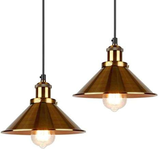 NEW GOLD PENDANT LIGHT (3 AVAILABLE) for sale in North Ogden , UT