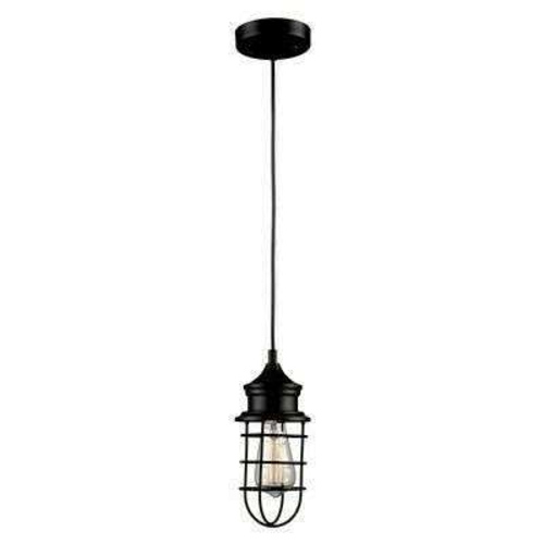 NEW BLACK CAGE PENDANT LIGHT (2 AVAILABLE) for sale in North Ogden , UT