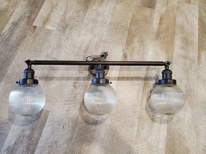 NEW INNOVATION LIGHTING BEACON 3 LIGHT VANITY LIGHT for sale in North Ogden , UT