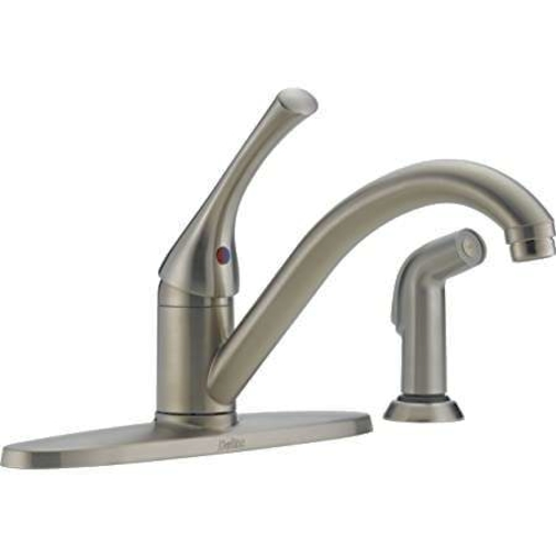 NEW DELTA CLASSIC KITCHEN FAUCET WITH SIDE SPRAY (2 AVAILABLE) for sale in North Ogden , UT