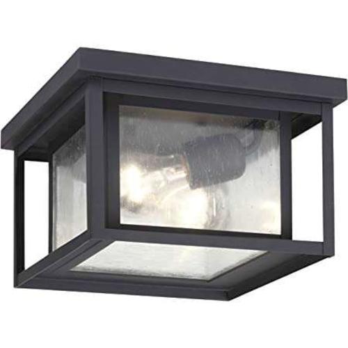 NEW BLACK 2 LIGHT FLUSHMOUNT CHANDELIER for sale in North Ogden , UT