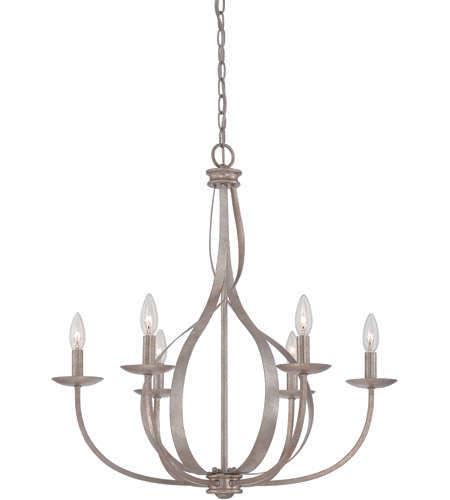NEW QUOIZEL SERENITY 6 LIGHT CHANDELIER (RETAIL: $598.99) for sale in North Ogden , UT