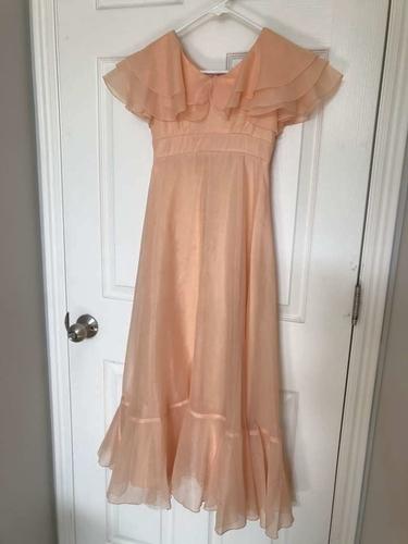 Peach Chiffon Dress for sale in South Jordan , UT