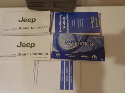 Owner's manual for 2008 Jeep Grand  Cherokee