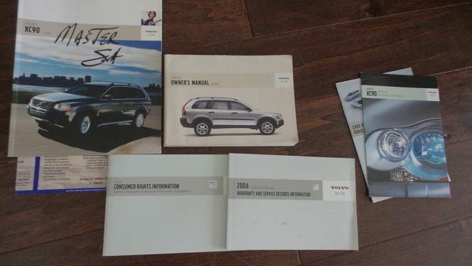 VOLVO XC90 Owner's manual for sale in Draper , UT