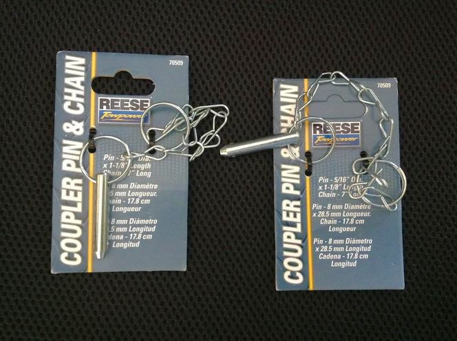 Pair of coupler pin & chain towpower for sale in Salt Lake City , UT