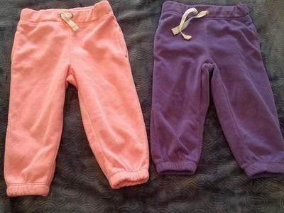 Carter's Fleece Pants Lot 18M