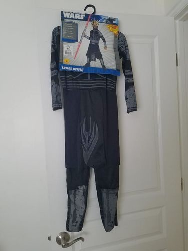Star Wars Child Costume Savage Opress Size Small (4-6) for sale in Taylorsville , UT