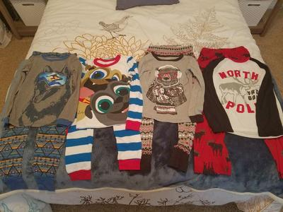 Boys Pj's Size 8 Lot
