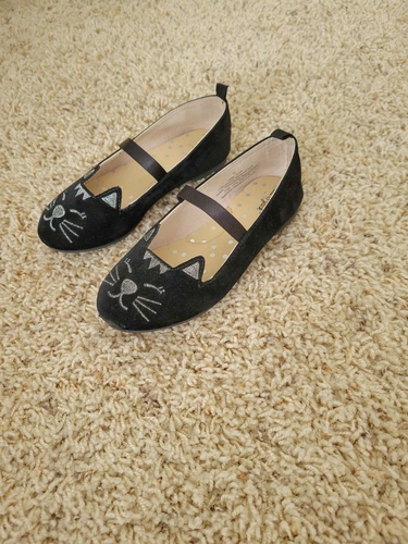 Girl's Cat Ballet Shoes 10 Toddler for sale in Taylorsville , UT