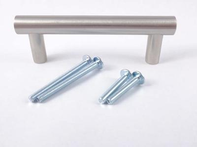 "Solid Stainless Steel 4"" Kitchen Cabinet Handles"