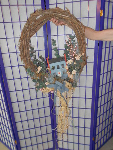 House wreath for sale in Murray , UT