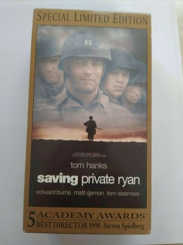 Saving Private Ryan (VHS, 2000, 2-Tape Set, Special Widescreen Limited Edition) for sale in Murray , UT