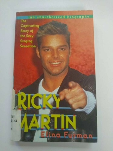 Ricky Martin : An Unauthorized Biography by Elina Furman paperback book for sale in Murray , UT