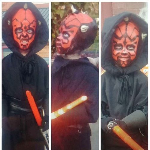 Darth Mall home made size 4-5 years for sale in Salt Lake City , UT