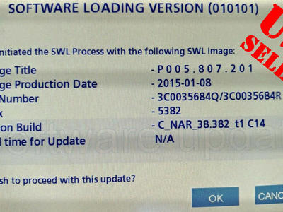 VW RNS-510 USA 5382 Navigation Firmware Upgrade