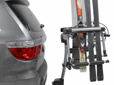 Yakima Cargo Box, Bike, Thule Hitch SKi/SB Rack
