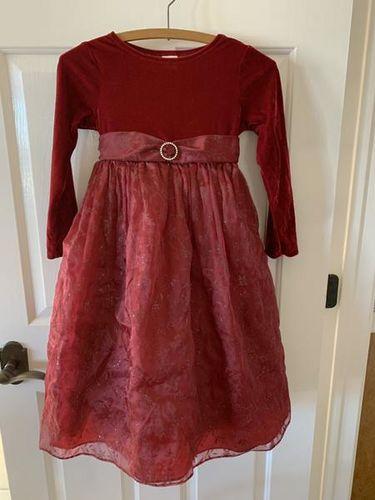 Size 6X Maroon Christmas Dress for sale in Herriman , UT