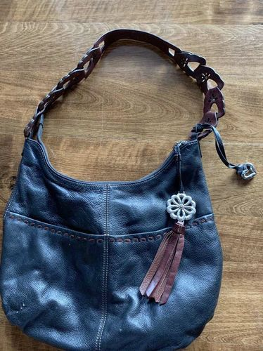 Brighton Collectibles Leather Purse Brown Black for sale in Herriman , UT