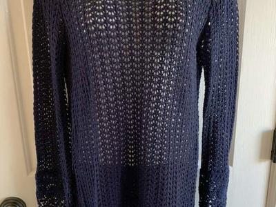 Knitted Charming Charlie Blue Sweater S