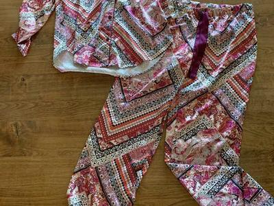 Victoria's Secret Silk Pajamas Size Small