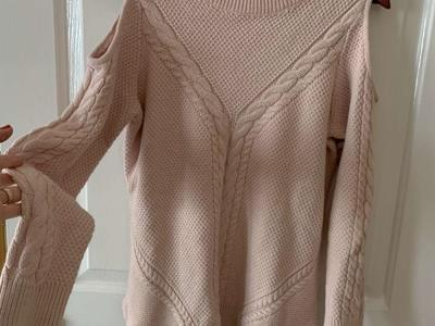 Women's Sweater Size XL Pink