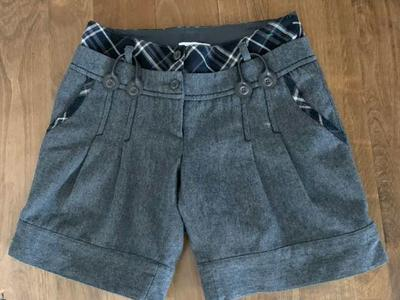 Promod Wool Lined Shorts Size 4