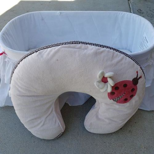 Bassinet,bath,boppy pillow/a ton baby accessories  for sale in American Fork , UT
