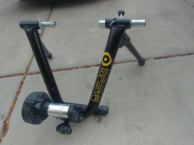 Indoor exercise bike trainer, use your own bike