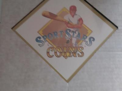 SPORT STARS COLLECTOR COINS