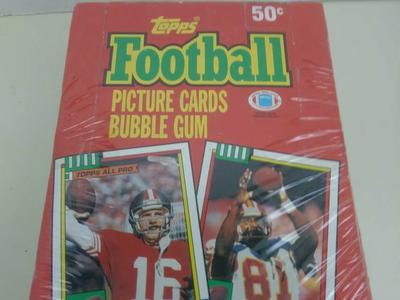 1990 TOPPS FOOTALL WAX PACKS