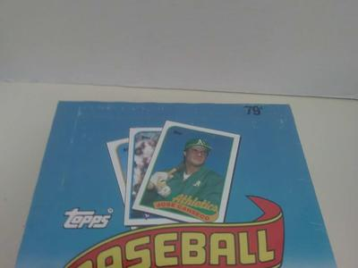 1989 TOPPS BASEBALL WAX PACKS