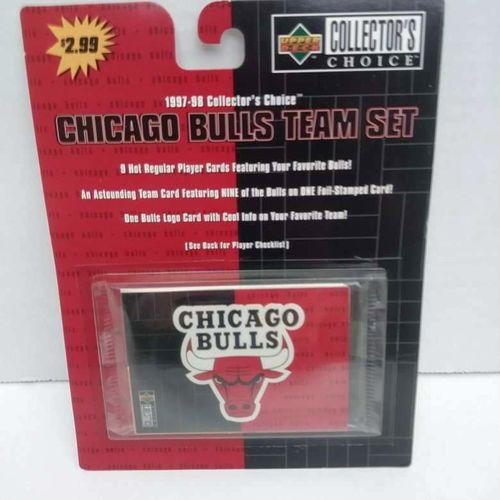1997/98 CHICAGO BULLS TEAM SET for sale in Salt Lake City , UT