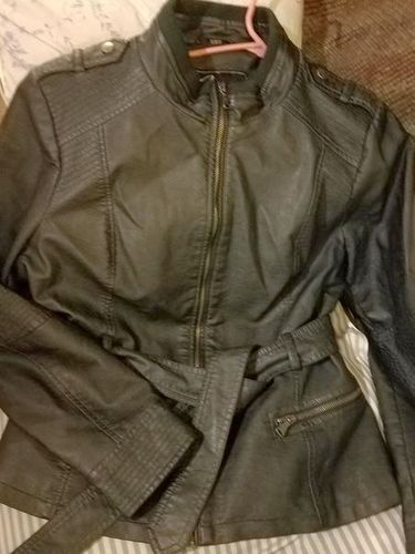 Womens Guess faux leather biker jacket Teal  for sale in Salt Lake City , UT
