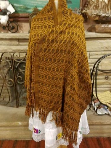 Blend cotton and synthetic rebozo (Mexican shawl) for sale in Millcreek , UT