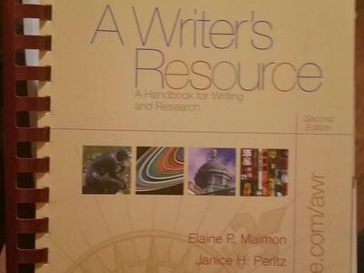 A Writer's Resource second edition