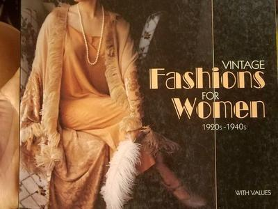Vintage fashion for women 1920s-1950s book