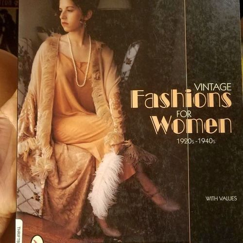 Vintage fashion for women 1920s-1950s book for sale in Millcreek , UT
