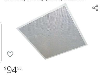 Lay-In Ceiling Speakers 2x2