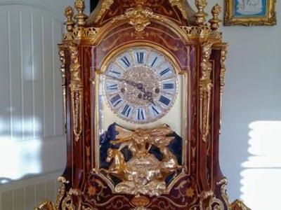 Louis XIV Bühler style made in Italy clock
