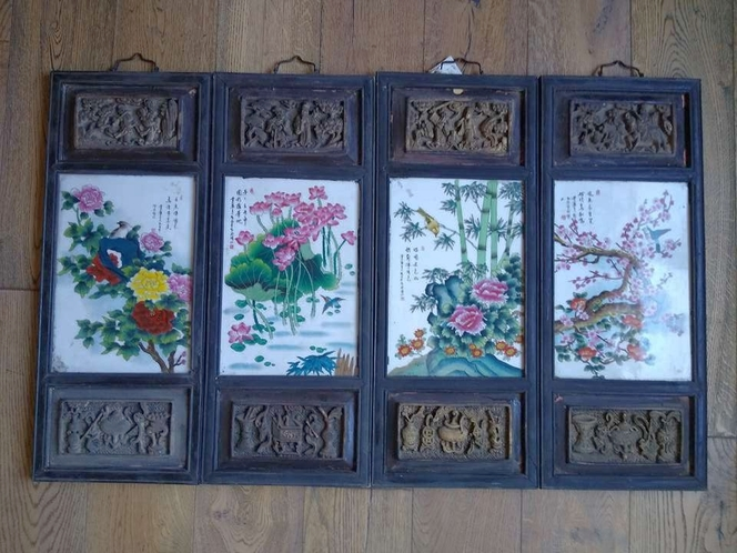 Chinese Asian porcelain paintings for sale in West Valley City , UT