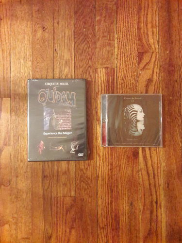 Collectable vintage cirque du soleil video and cd for sale in Salt Lake City , UT
