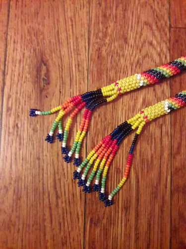 Native American vintage beaded cord for bolo for sale in Salt Lake City , UT