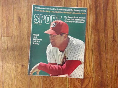 Antique SPORT mag. featuring Ted Williams