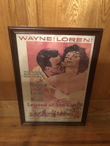 Vintage antique original john wayne movie poster for sale in Salt Lake City , UT